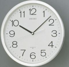 Witte Seiko Rond kast met kleurige rand - Klok - Rond - Kunststof - Ø36.1 cm - Wit