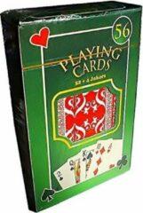 Free And Easy Speelkaarten 52 + 4 Blauw/rood