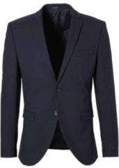 Donkerblauwe SELECTED HOMME My Logan slim fit colbert