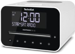 Technisat Digitradio 52 CD - wekkerradio - wit