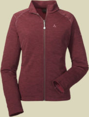 Schöffel Fleece Jacket Nagoya Women Damen Fleecejacke Größe 42 roan rouge