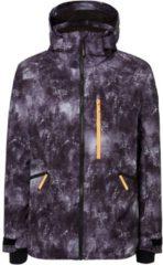 Zwarte O'Neill Diabase Jacket Heren Ski jas - Black Aop - Maat L