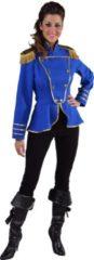 Magic by freddy Leger & Oorlog Kostuum | Cavalerie Uniform Jas Blauw Vrouw | XL | Carnaval kostuum | Verkleedkleding