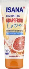 ISANA Douchescrub - Douchepeeling Grapefruit Love - met zachte massageparels - met een fruitige geur (200 ml)
