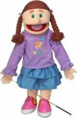 Paarse Handpop Amy Sillypuppets 25''