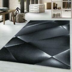 COSTA Impression Maxi Design Laagpolig Vloerkleed Zwart- 160x230 CM