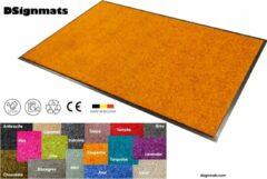"""Smophy Home Wash & Clean vloerkleed / entree mat, droogloop, ook voor professioneel gebruik, kleur """"Tangerine"""" machine wasbaar 30°, 150 cm x 90 cm."""
