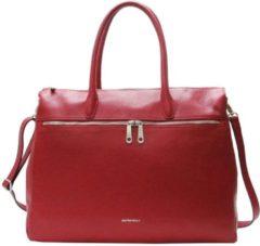 Rode Handtas Gigi Fratelli Leren Laptoptas 17 inch Romance Business ROM8007