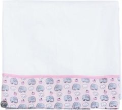 Roze Blond Amsterdam - Little Blond - Lakentje - Pink elephant - 100x150 cm