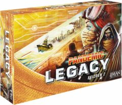 Z-Man Games Z Man Games bordspel Pandemic Legacy Seizoen 2 Yellow (NL)