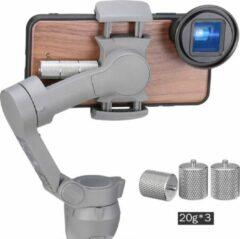 Zilveren Ulanzi PT-10 contragewicht voor DJI Osmo Mobile 3/4