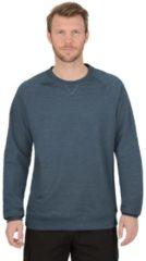 Herren Sweatshirt mit angerauter Innenseite Trigema jeans-melange