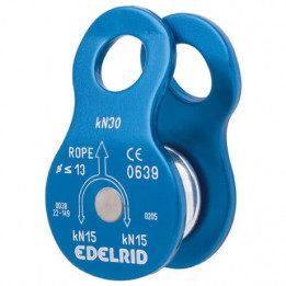 Afbeelding van Blauwe Edelrid Turn compacte enkele katrol