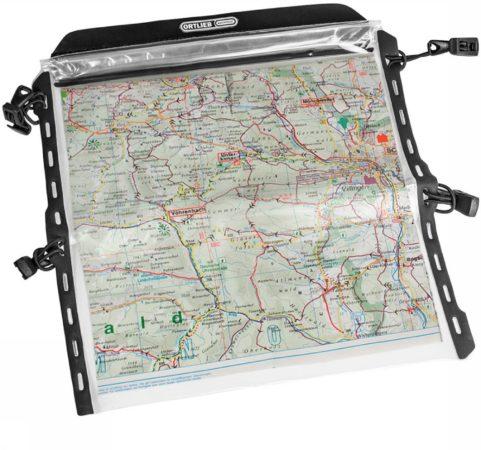 Afbeelding van Ortlieb - Ultimate Six Map-Case - Stuurtas maat One Size, wit/grijs