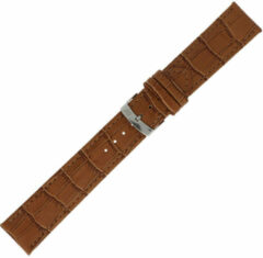 Morellato Morelatto Horlogebandje Juke Alligator Bruin 16mm