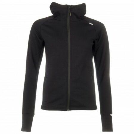 Afbeelding van Zwarte Devold - Nibba Woman Jacket - Wollen jack maat XL zwart