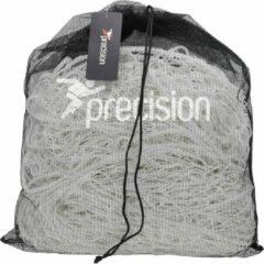 Precision Voetbaldoelnet Junior 365 X 182 Cm Wit 3-delig