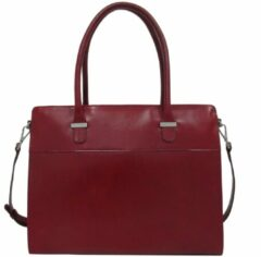 "Rode Claudio Ferrici Classico Businessbag 15"" red"