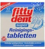 Fittydent Gebitsreinigingstabletten 32 Tabletten