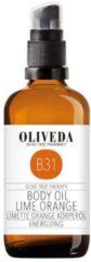 Oliveda B31 Körperöl Limette Orange - Energizing, 100ml