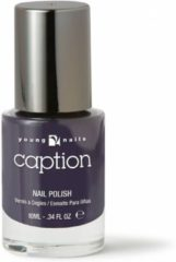 Blauwe Young Nails - Caption Caption nagellak 121 - All skill no luck