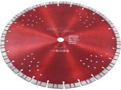 VidaXL Diamantzaagblad met turbo en gaten 350 mm staal VDXL 143234