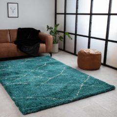 Dimehouse Vloerkleed Lina - Groen Blauw - 160x230 cm