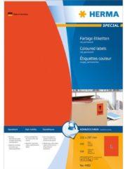 Rode Gekleurde etiketten Herma 4402 A4 210x297 mm rood papier mat 100 st.