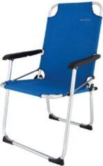Donkerblauwe Euro trail moita camping stoel blauw