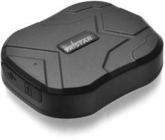 Zwarte TK Star GPS Tracker - Heavy duty Magneet Waterdicht 5000mAh 60 dagen standby