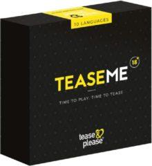 Zwarte Tease & Please XXXME - TEASEME Time to Play, Time to Tease - Erotisch bordspel