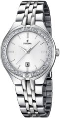 Festina F16867/1 Mademoiselle - Horloge- Staal - Zilverkleurig - 32.5 mm