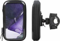 Interphone - Samsung Galaxy Note 20 Ultra Motorhouder Unicase Telefoonhouder Fiets en Motor Stuur Zwart