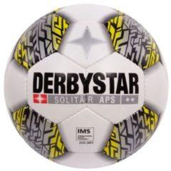 Derbystar VoetbalVolwassenen - wit/grijs/geel