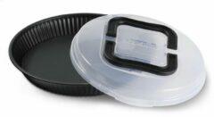 Zwarte Guardini Bakeware Guardini Taartvorm met deksel - 28 cm