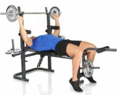 Grijze Hammer Fitness Hammer BERMUDA XT - halterbank - 150 kg