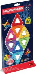 Clics Magformers Triangle Standard Set Line - 8 Onderdelen - Magnetische Bouwset