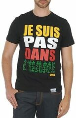 Zwarte T-shirt Korte Mouw Wati B TEE