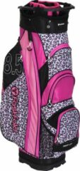 "Roze Fast Fold 10"" Golftas Pink Animal Print - Lichtgewicht"