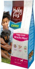 Hobbyfirst Canex Puppy-Junior Brocks Maxi - Hondenvoer - Kip Rijst 12 kg - Hondenvoer