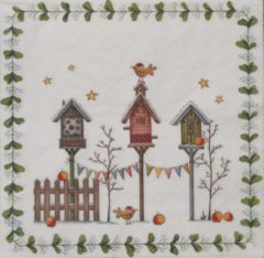Ihr Servetten Little Bird's World 33 x 33 cm