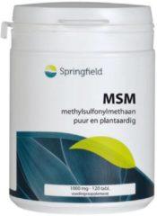 Springfield MSM Lignisul - 120 tabletten - Voedingssupplement