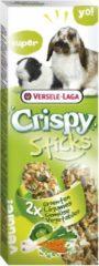 Versele-Laga Crispy Sticks Konijn&Cavia - Konijnensnack - Groenten