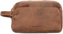 Antik Kulturbeutel Leder 26 cm Harold's natur