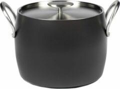 Serax Pure by Pascale Naessens - Kookpot - 7,5L - Ø 22cm - H 18,2cm - Zwart