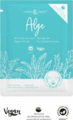 Lichtblauwe VEGAN | CHIARA AMBRA Cleansing Moisturizer Mask met AlgenExtract - Ontspan