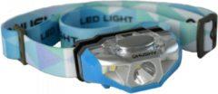 Husky Outdoor hoofdlamp op AA batterij Selma 140 lumen - Blauw