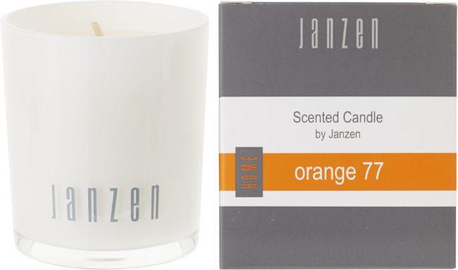Afbeelding van Oranje Janzen Parfumkaars Orange 77 - 1 st