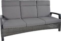 Antraciet-grijze Lesliliving Lesli Living Loungebank Prato Forte