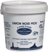 Marius Fabre Savon Noir Lavoir Zwarte Zeep Pot (1000g)